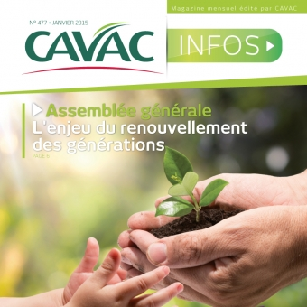 Cavac Infos 477 – Janvier 2015