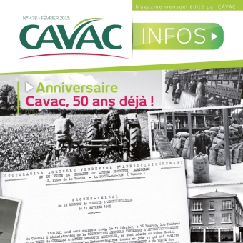 Cavac Infos 478 – Février 2015