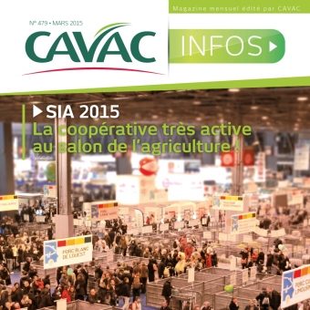 Cavac Infos 479 – Mars 2015
