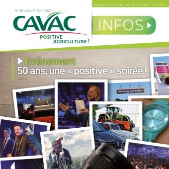 Cavac Infos 483 – Eté 2015