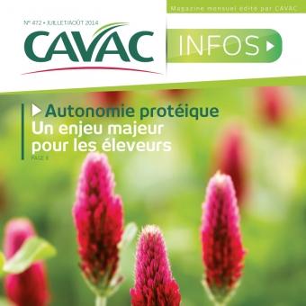 Cavac Infos 472 – Été 2014