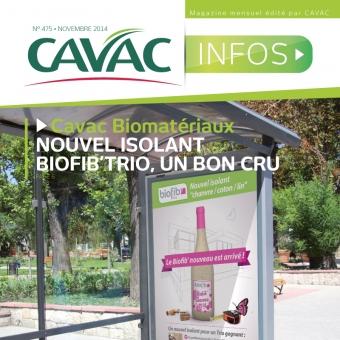 Cavac Infos 475 – Novembre 2014