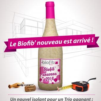 Biofib'Trio, nouveau produit lancé sur le salon ARTIBAT