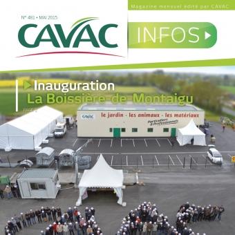 Cavac Infos 481 – Mai 2015