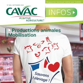 Cavac Infos 484 – Septembre 2015