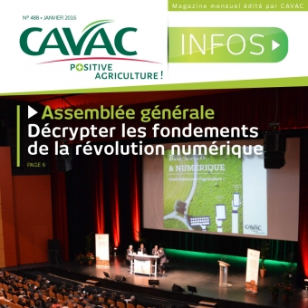 Cavac Infos 488 – Janvier 2016