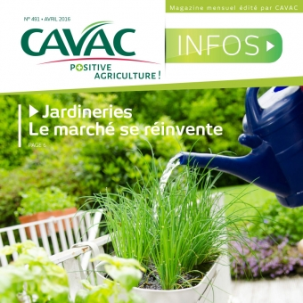 Cavac Infos 491 – Avril 2016