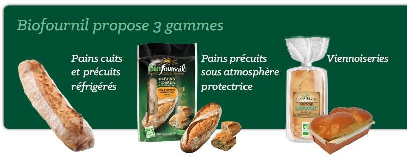 Biofournil 3 gammes
