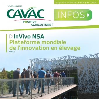 Cavac Infos 493 – Juin 2016