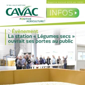 Cavac Infos 494 – Juillet 2016