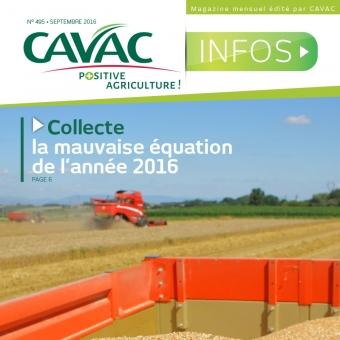 Cavac Infos 495 – Septembre 2016