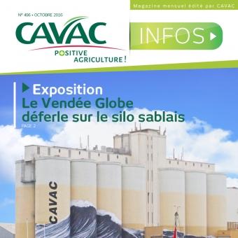 Cavac Infos 496 – Octobre 2016