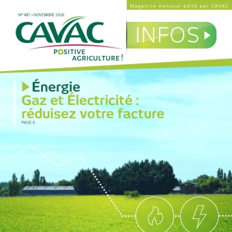 Cavac Infos 497 – Novembre 2016