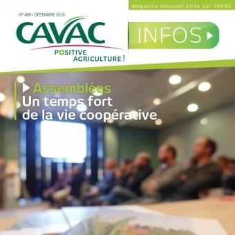Cavac Infos 498 – Décembre 2016