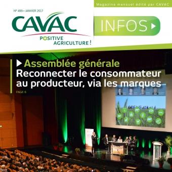 Cavac Infos 499 – Janvier 2017