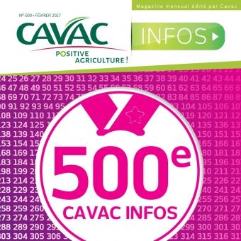 Cavac Infos 500 – Février 2017