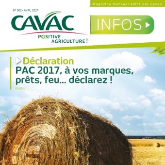 Cavac Infos 502 – Avril 2017