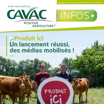 Cavac Infos 505 – Juillet 2017