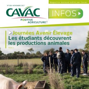 Cavac Infos 508 – Novembre 2017
