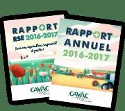 Télécharger les rapports RSE et annuels Cavac