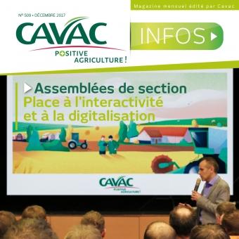 Cavac Infos 509 – Décembre 2017