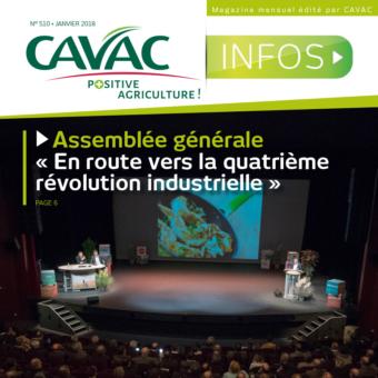 Cavac Infos 510 – Janvier 2018