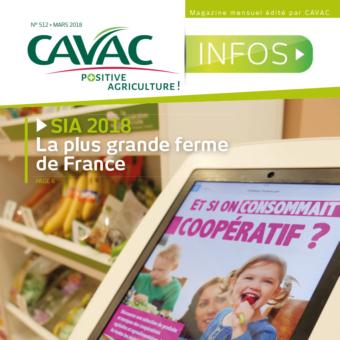 Cavac Infos 512 – Mars 2018