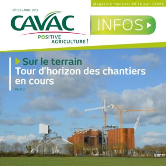 Cavac Infos 513 – Avril 2018