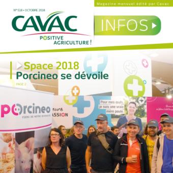 Cavac Infos 518 – Octobre 2018