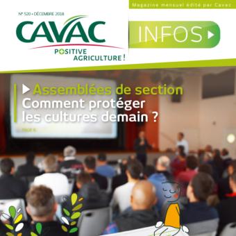 Cavac Infos 520 – Décembre 2018