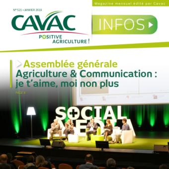 Cavac Infos 521 – Janvier 2019