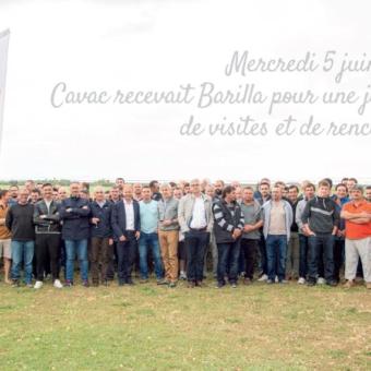 Barilla et Cavac : unis par la qualité !
