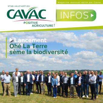 Cavac Infos 548 – Juillet / Août 2021