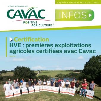 Cavac Infos 549 – Septembre 2021