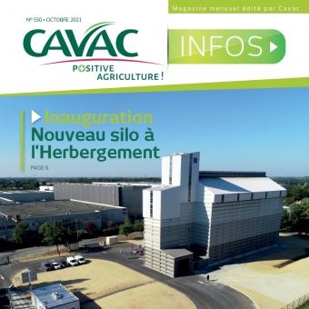 Cavac Infos 550 – Octobre 2021
